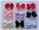 "4.5"" Knotted Boutique Bows"