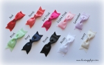 Double Layer Grosgrain Bows