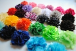 Mini Satin and Tulle Puffs