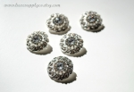 23mm Rhinestones Metal Embellishments - Loop