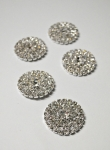 25mm Rhinestone Metal Embellishment