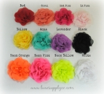 New! Soft Fabric Roses